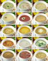 types of vegetable soups gourmet cooking