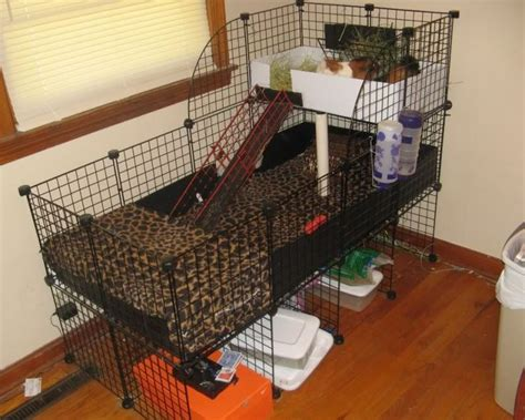hay rack for guinea pig cage guinea pig cages view of whole cage fleece sewed onto
