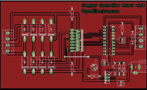 diy stepper motor controller diy stepper controller theory pyroelectro news