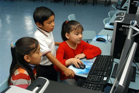 imagenes de niños usando la tecnologia programa de educaci 243 n telmex el programa ni 241 os