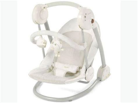 rocker bouncer or swing mamas and papas slumber swing white bouncer rocker dudley