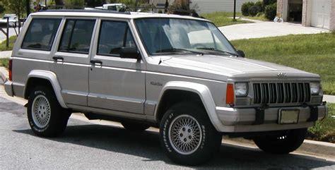 Jeep Xj History File Jeep Xj Jpg