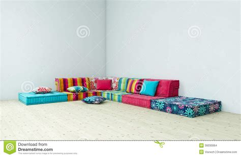 hippie couch sofa hippie stock illustration image 39330064