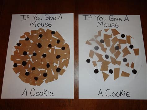 cookie crafts izzie mac and me if you give a mouse a cookie activities