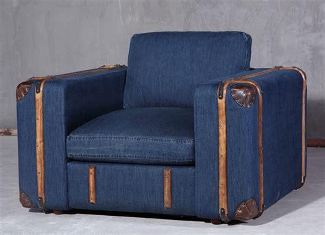 vintage fabric sofa industrial style retro rattan vintage jean fabric sofa set