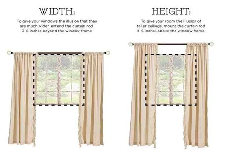properly hanging curtains how to hang curtains the right way hang curtains window