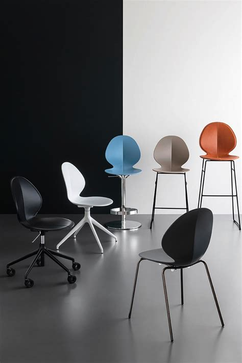 due ufficio sedia da ufficio moderna calligaris basil due sedie da