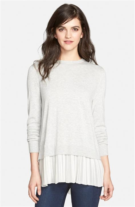 Sweater Chelsea H09 1 pleated hem sweater wear sweaters and chelsea