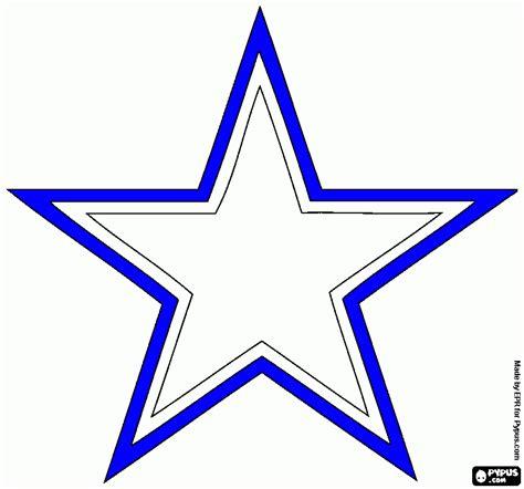dallas stars coloring page dallas cowboy star coloring pages