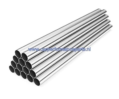Pipa Aluminium 8mm aluminium rechte buis 8mm buitendiameter en 1meter lengte