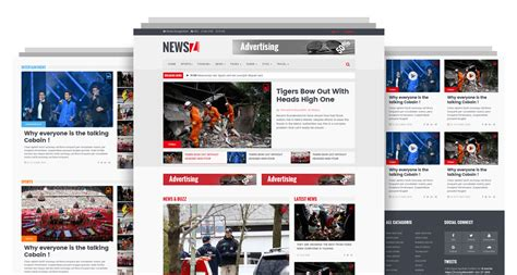 Newsz News Magazine Html Template Codeboxr News Html Template