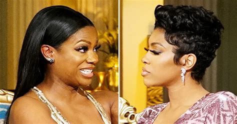 kandi burruss hair line kandi burruss porsha williams fight on real housewives