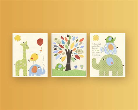 Nursery Wall Decor Wall For Nursery Best Baby Decoration