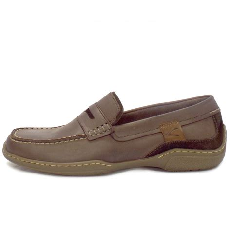 in loafers camel active sale carlton mens casual brown leather