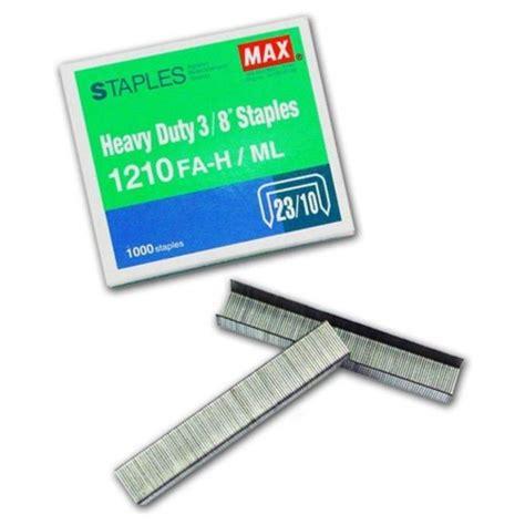Diskon Staples Max 1210fa H max staples 1210fa h bullet 3 8 b07 19 a1r2b250