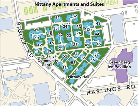 penn housing housing area maps penn state university park housing