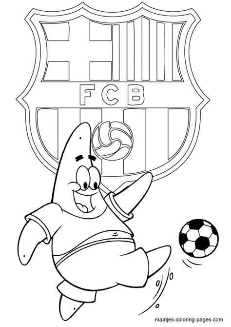 Maatjes Coloring Pages barcelona free colouring pages