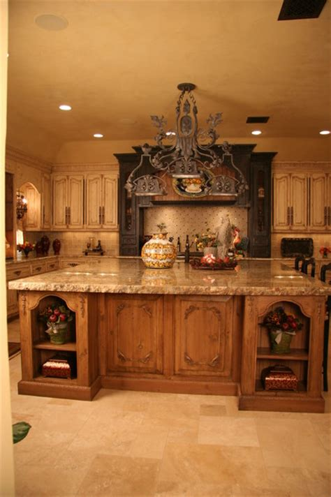 Kitchen Cabinets Oklahoma City by Old World Kitchen Mediterranean Kitchen Oklahoma