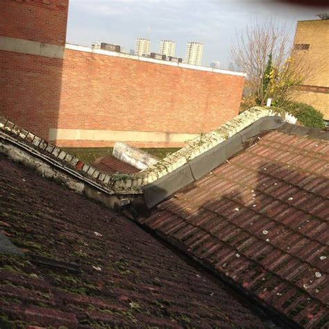 Plumb Centre Peckham by Replace Butterfly Roof New Flat Roof And Rendering