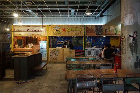 foto desain gerobak food fighters blok m berburu makanan di food court