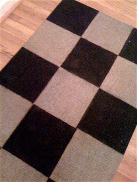 Bad Rug by Bad Poodles How To Paint A Sisal Rug