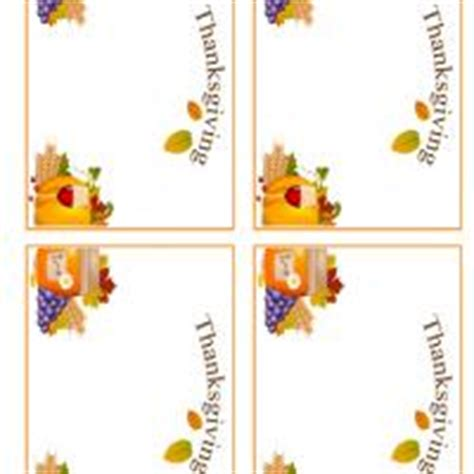 thanksgiving place cards template free printable thanksgiving place card template
