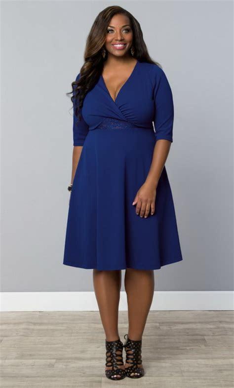 blauwe jurk maat 46 sjieke kleding grote maten