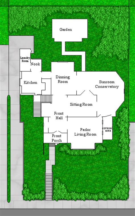 Halliwell Manor Floor Plans | halliwell manor grounds by notsalony on deviantart