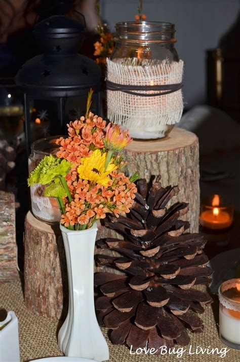 diy wedding centerpieces fall diy fall themed centerpieces rustic fall themed wedding