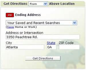 Pin mapquest driving directions on pinterest