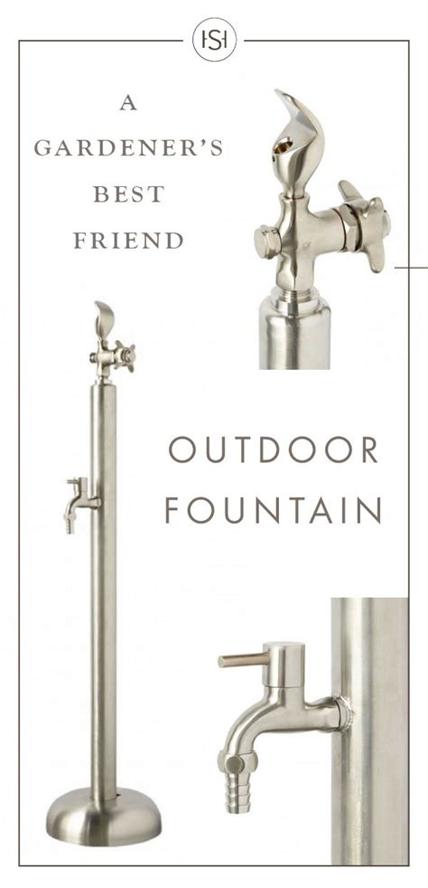 backyard faucet and drinking fountain 25 best ideas about drinking fountain on pinterest