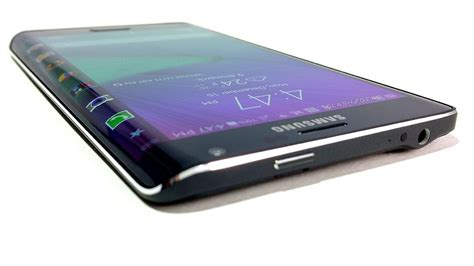 Samsung Edge by Samsung Galaxy Note Edge Review Side Screen Side Eye