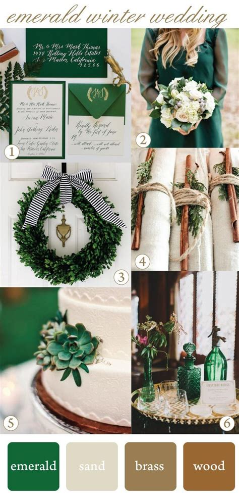 Green Weddings With The Carbonneutral Company Hippyshopper by How To Use Emerald For A Winter Wedding The Mantilla Company