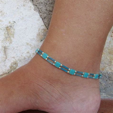 Bead Anklet best 25 beaded anklets ideas on anklet