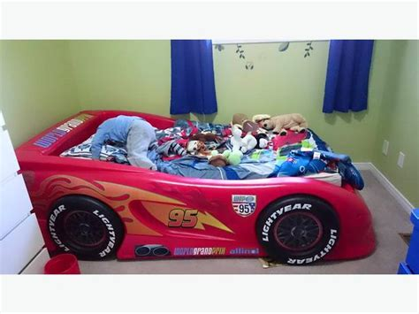 lightning mcqueen twin bed lightning mcqueen twin size bed nepean ottawa