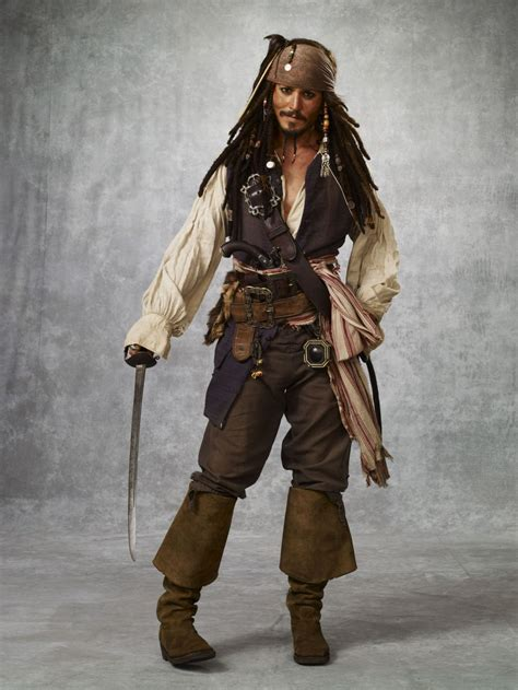 how to create a captain jack sparrow pirate costume captain jack captain jack sparrow photo 27595497