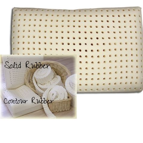solid foam bed pillows organic pillows solid foam rubber latex pillow