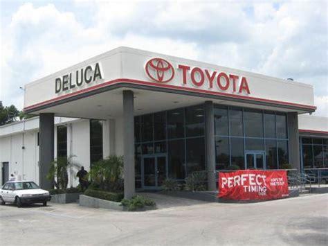 Deluca Toyota Ocala Florida Deluca Toyota Ocala Fl 34471 Car Dealership And Auto