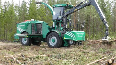 Chp Log by Purpose Built Wood Chipper From Albach Forestry Com