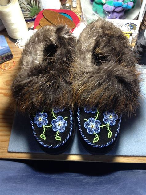 beaver fur slippers 1000 images about slippers mukluks moccasins on