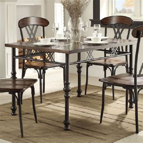 kitchen table divorce homelegance loyalton transitional kitchen table with turned leg look sol furniture
