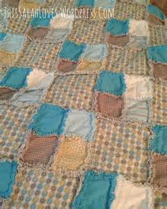 Rag Quilt Pattern Baby by Boy Blue Rag Quilt This