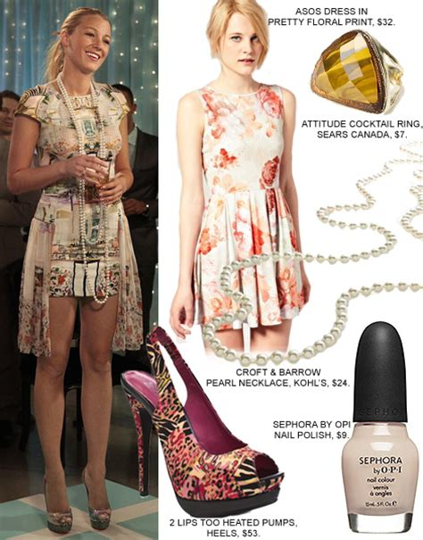 Gossip Girl Fashion: Get Serena Van Der Woodsen's Look For Under $150   FASHION