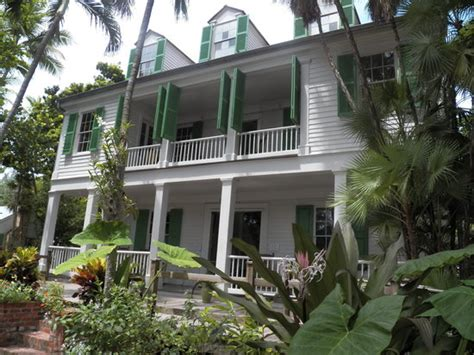 Audubon House And Tropical Gardens by The Audobon House As Seen From The Picture Of