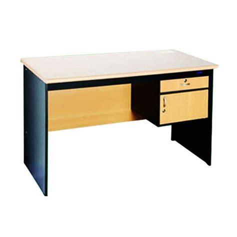 Meja Kerja Meja Belajar Meja Kantor Laci 2 Kayu Jati jual best meja kerja kantor 1 2 biro dengan laci harga kualitas terjamin blibli