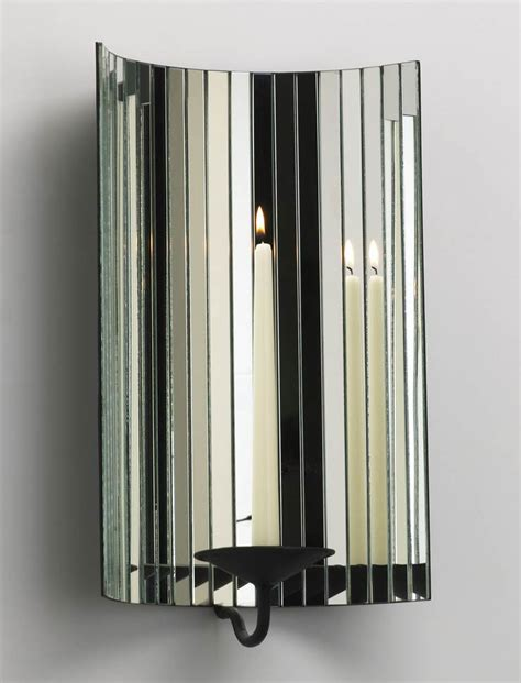 Mirror Candle Holders Dazzling Mirror Wall Mount Candleholder By Cyan Design