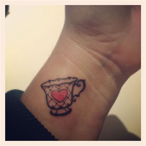 mum tattoo on wrist loving my new teacup in memory of my my best