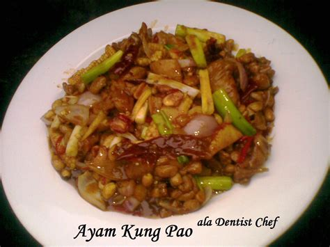 resep ayam kung pao ala dentist chef chicken kung pao dentist chef