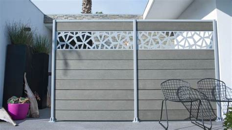 panneaux pour cloture de jardin d 233 co de jardin quelle cl 244 ture choisir