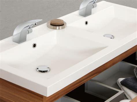Cara Badewanne by Cara Doppelwaschtisch Mineralguss Modisches Design